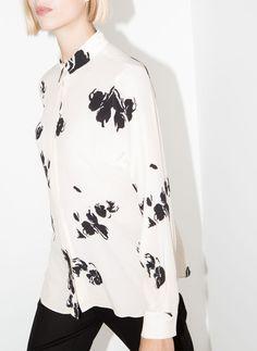 Camisa flores - Nuevo en tienda - Uterqüe España