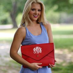 Monogrammed Penny Cross Body Wristlet Purse $34.99 from Marleylilly.com