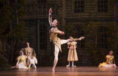 Vadim Muntagirov as Lensky in Onegin © ROH 2015. Photo by Tristram Kenton   Vadim Muntagirov as Lensky in John Cranko's Royal Ballet production of Onegin. The Royal Ballet 2014/15