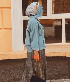 Modest Fashion Hijab, Muslim Fashion, Fashion Dresses, Niqab, Hijab Trends, Hijab Ideas, Organza Dress, Beautiful Hijab, Fashion Beauty