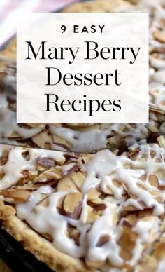 8 Mary Berry Dessert Recipes to Help You Prep for Your 'Great British Bake Off' Audition is part of Berry dessert recipes While she might not be appearing on future seasons of The Great British - British Desserts, British Baking Show Recipes, British Bake Off Recipes, Scottish Recipes, Chef Recipes, Sweet Recipes, Dessert Recipes, Easy Pudding Recipes, Mary Berry Desserts