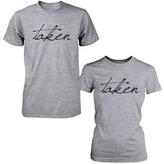 You can't go out together unnoticed with these trendy Shirts. Cute Matching Couple T-Shirts! Our Funny Couple Tee is Best gifts for Wedding, Anniversary, Valentines Day, Christmas, And any other Speci