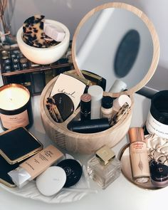 Fashion Look Featuring Rituel de Fille Makeup and Francis Kurkdjian Fragrances by beautybloss - ShopStyle - Beautiful treasure box filled with gorgeous makeup - Makeup Storage, Makeup Organization, Makeup Collection Storage, Drugstore Makeup, Makeup Cosmetics, Body Makeup, Eye Makeup, Makeup Box, Beauty Skin