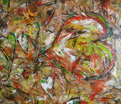 """Acrylmalerei - """"Crazy for Love"""" - ein Designerstück von n8kunst-z-wergk bei DaWanda"""