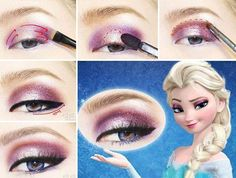 We already know that some of Hollywood's biggest celebrities look like characters from Frozen, and now, with a little help from some makeup, you can look like the movie's leading lady, too! By following the simple picture/video tutorials below, you'll start resembling Queen Elsa in basically no time at all. But, don't worry — no …