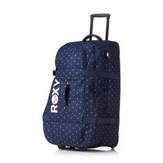 Roxy Long Haul Anchor Luggage - Little Anchor Night Blue