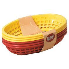 Sandwich & Fry Baskets.
