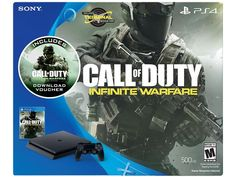 PlayStation 4 Slim 500GB Console Call of Duty Infinite Warfare Bundle $249.99 + Free Shipping!