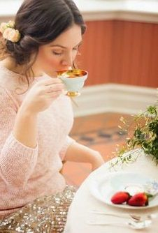 Strawberry Tea, Girls Dresses, Flower Girl Dresses, Herbalism, Wedding Dresses, Fashion, Dresses Of Girls, Herbal Medicine, Bride Dresses