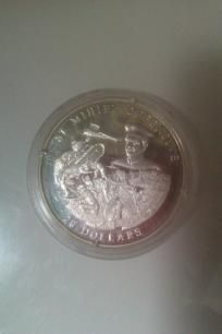 American Mint. LE America At War 20 grams of Sterling Silver Coin American Mint COA *Free Shipping* http://yardsellr.com/yardsale/Erik-Marx-416944