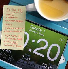 Ta-ba-ta... I love tabata training!!