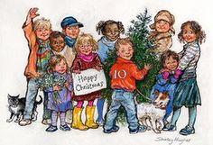 Leader Christmas Cards: Politicians' xmas cards - Gordon Brown 2007