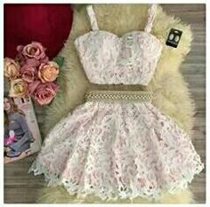 Hot Sale Comfortable Homecoming Dresses Two Piece Cute Pink Two Pieces Lace Short Prom Dress, Pink Homecoming Dress Two Piece Homecoming Dress, Prom Dresses Two Piece, Lace Homecoming Dresses, Hoco Dresses, Pretty Dresses, Sexy Dresses, Beautiful Dresses, Beaded Dresses, Teen Dresses Casual
