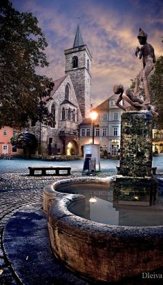 Fountain.. in Erfurt, Germany. Our tips for 25 things to do in Germany: http://www.europealacarte.co.uk/blog/2011/11/21/what-to-do-in-germany/