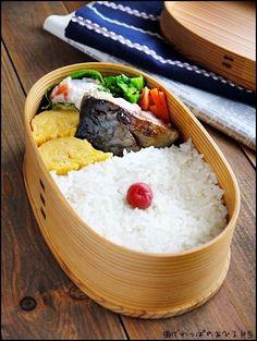 鯖の塩麹焼き弁当