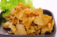 Fried Chicken Skin or Chicken Chicharon Recipe