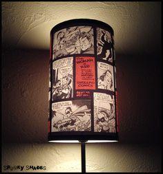 Comic Strip Lampenschirm