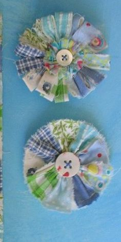 Fun Fabulous Fabric Flower DIYs !
