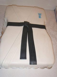 I'll have to get Jude to make this when John gets his black belt.