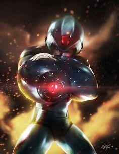 Mega man by Edgar Gómez
