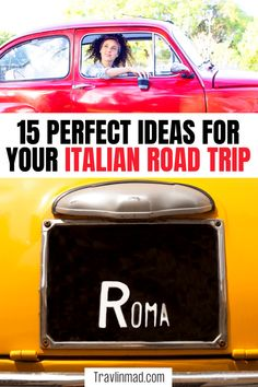 15 incredible Italian road trips with detailed directions, tips on driving and renting a car, and things to see and do. From UNESCO sites, bucket list cities, colorful villages, and quaint hidden gems, you can sip and savor every mile. There's nothing like a good road trip in Italy! Italy road trips | northern Italy road trip | Tuscany road trip | southern Italy road trip #Italyroadtrip #Italianroadtrips European Travel Tips, Italy Travel Tips, Slow Travel, European Vacation, Europe Travel Guide, Travel Guides, Road Trip Planner, Road Trip Packing, Road Trip Europe