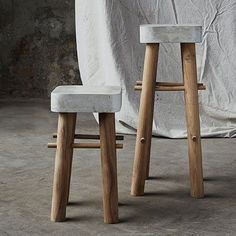 Awesome diy concrete bar stools