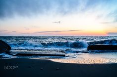West Beach - Sunset at West Beach on Whidbey Island, WA. Lauren Lyons Photography.