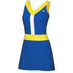 Wilson Star Power Tennis Dress.  #tennis