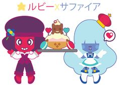 Chibi Steven x Connie by Itachi-Roxas on DeviantArt Chibi Steven Universe, Sapphire Steven Universe, Itachi, Cartoon Drawings, Online Art Gallery, Smurfs, Disney Characters, Fictional Characters, Kawaii