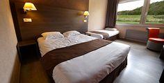 Hôtel du Val Vert à Pouilly en Auxois - Points positifs : à proximité de la sortie d'autoroute A6; chambres rénovées en 2013