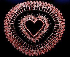 Zawsze mów  że kochasz #iloveyou #heart #serce #kocham : Kolekcja poniedziałkowych serc Page Hodell Monday Hearts 307