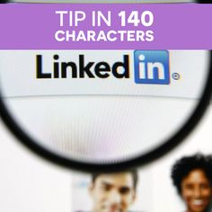 Personalizing your LinkedIn's URL link will allow your profile to be more appealing and easier to find! Ex: linkedin.com/in/yourname #TIpIN140Characters Your Profile, Characters, Link, Figurines
