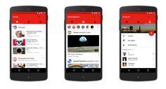 Sabías que La app de YouTube se actualiza y ya reproduce vídeos verticales