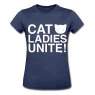 Cat ladies unite! :3