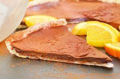 Ein Traum ist diese Schokoladen Orangen Tarte. Wer könnte bei diesem tollen Rezept schon widerstehen.