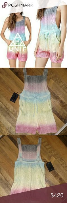 Unif Cake Romper NWT Looking To Trade For Unif Cake Cardigan Or Sweater. Absolutely love the colors in this Unif Cake Romper. But sadly it doesn't quite fit the way I like. Never worn, only tried on. If you're searching for this, and have to have it, I'll ofcourse take offers:) But I'm mostly hoping to trade for the Cake Cardigan if anyone has that!! Or jus other UNIF UNIF Pants Jumpsuits & Rompers