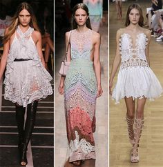 Spring/ Summer 2015 Fashion Trends: Lace and Laser-Cut Details|www.fashionisers.com #2015fashiontrends