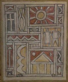 Joaquín Torres-García, Constructive Fresco (1942) | Artsy