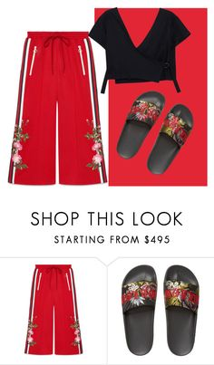"""Gucci wow"" by lannaparkl ❤ liked on Polyvore featuring Gucci"