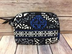 Vera-Bradley-Small-Cosmetic-Bag-Canterberry-Cobalt