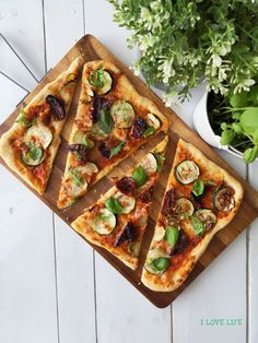 I LOVE LIFE - blog kulinarny Love Life, Mozzarella, Vegetable Pizza, Vegetables, Blog, Vegetable Recipes, Blogging, Veggies