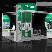 CAMF005 – 20×20 Trade Show Exhibit Rental