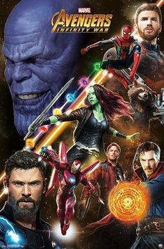 Avengers Infinity War Challenge Unframed Wall Poster Print x - Trends International, Multi-Colored Marvel Avengers, Marvel Comics, Marvel Heroes, Captain Marvel, Captain America, Marvel Fight, Poster Marvel, Marvel Infinity, Spiderman Infinity