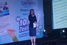 Follow @liputanbaru  Confidence Raih Rekor MURI untuk Testimoni Pelanggan Terbanyak [ Baca selengkapnya di liputanbaru.com ]  #koransindo #love #instagood #photooftheday #beautiful | Baca selengkapnya di website: liputanbaru.com #TsunamiCup