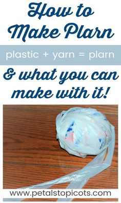 Learn how to make plarn to recycle that pile of plastic bags in your closet and turn them into some really cool creations! I'm always looking for ways to reduce waste and reuse and recycle what I can. Although I try to use reusable bags whenever I go Reuse Plastic Bags, Plastic Bag Crafts, Plastic Bag Crochet, Plastic Shopping Bags, Plastic Grocery Bags, Reusable Shopping Bags, Reusable Bags, Plastic Bottles, Best Baby Shower Gifts