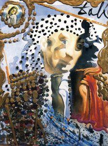 The Whole Dali in a Face - (Salvador Dali)