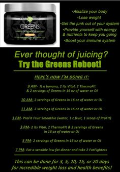Detox with IT WORKS Green  Love My Greens It Works Facebook page Love My Greens It Works www.lovemygreensitworks.com