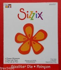 Sizzix Sizzlits.. Flower Blossom.  [654757].