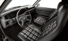 I still miss plaid auto upholstery.