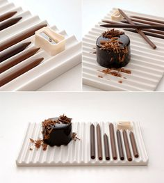 Edible Chocolate Paint Tubes by Nendo | Yatzer